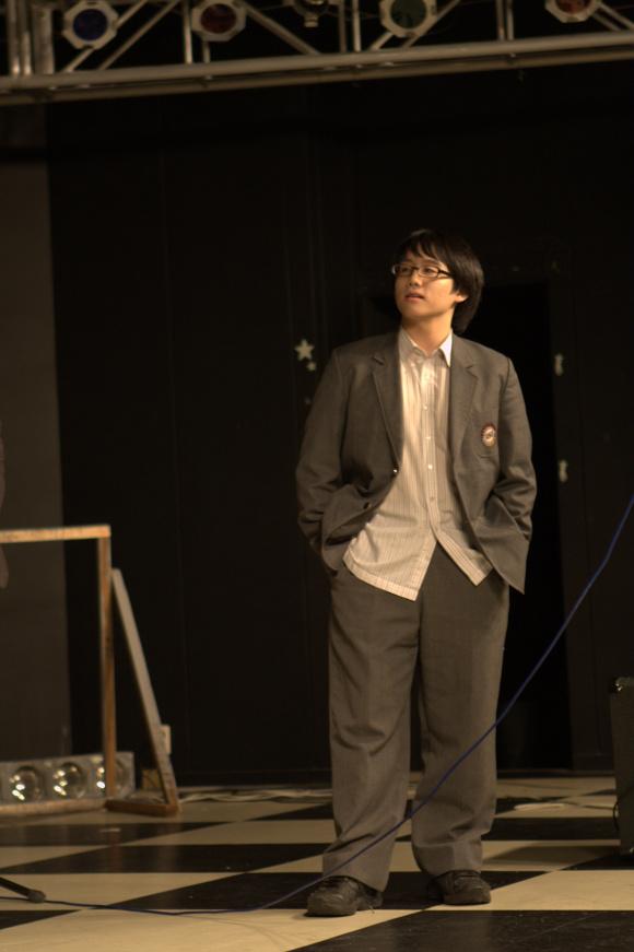 Correcting actor's formation of origianal music drama 'Repeat mark(DoDoRiPyo)'